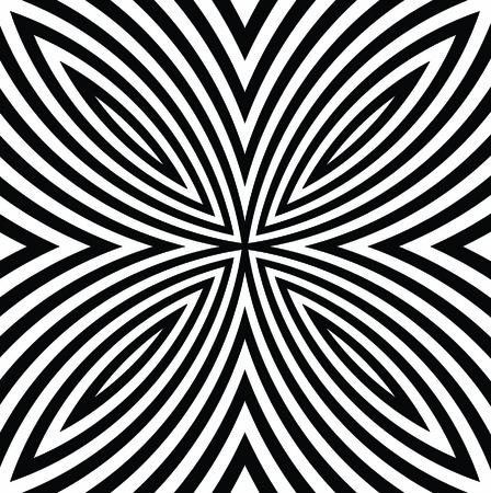 graphical: vector - digital flower