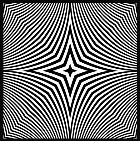 vector - optical art view