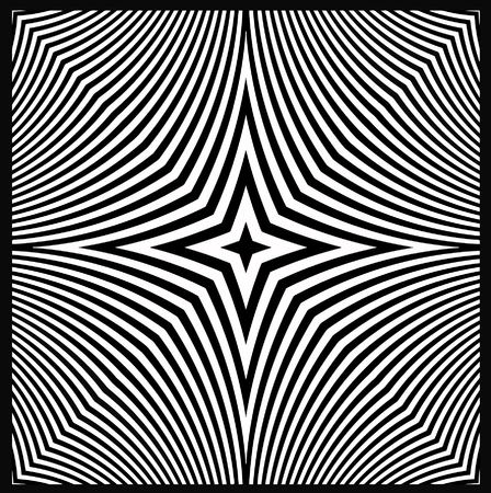 vector - optical art view
