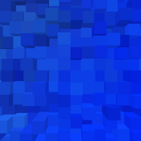 vector - deep blue geometry Vector