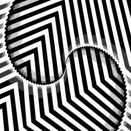 vector - optical art view Vector