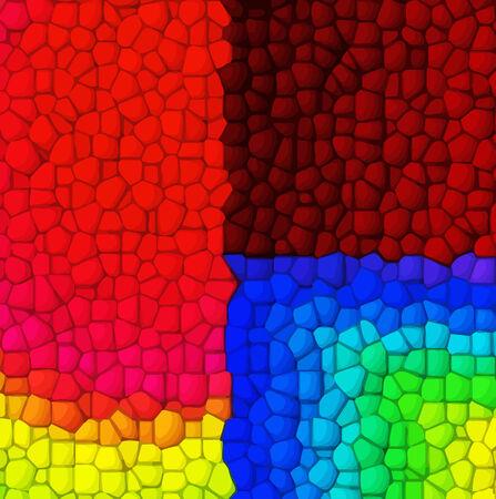 vector - digital mosaic Vector