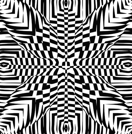 vector - optical art Vector