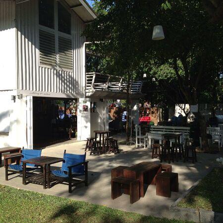 open air: An unique open air cafe