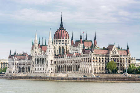 Parliament building in Budapest landscapes Budapest, Hungary Stock Photo
