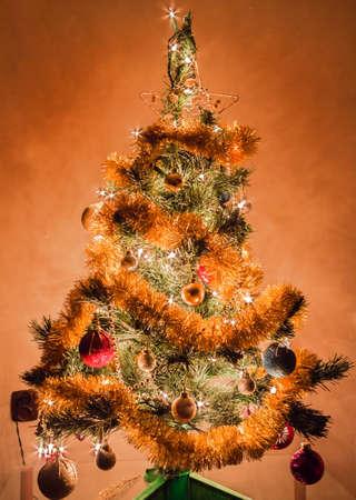 Christmas tree decoration background  Stock Photo - 17112567