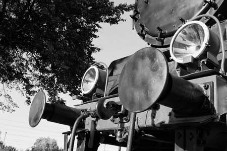 old black white steam locomotive machine photo