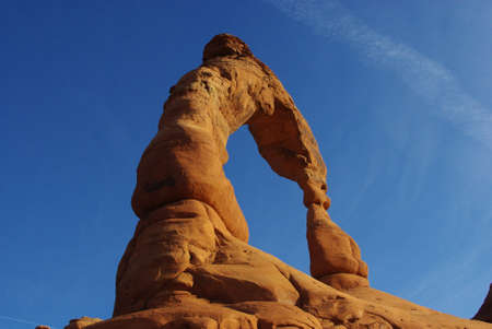 arches national park: Delicate Arch, Arches National Park, Utah Stock Photo