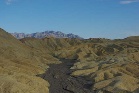 Near Zabriskie Point, Death Valley, California photo