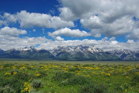 Grand Teton Range, Wyoming photo