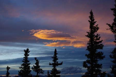 rocky mountains colorado: Evening Clouds, Rocky Mountains, Colorado