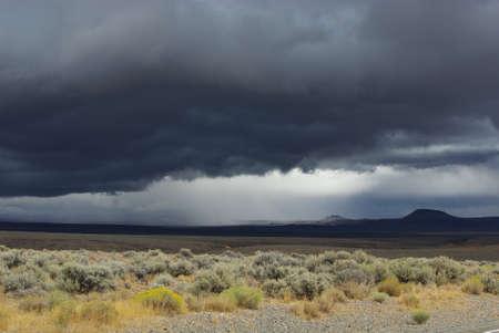 Desert storm, Nevada