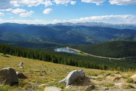 rocky mountains colorado: High above Echo Lake, Rocky Mountains, Colorado