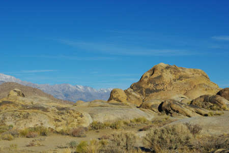 Sleeping giant, Alabama Hills, Sierra Nevada, California Stock Photo - 12520718