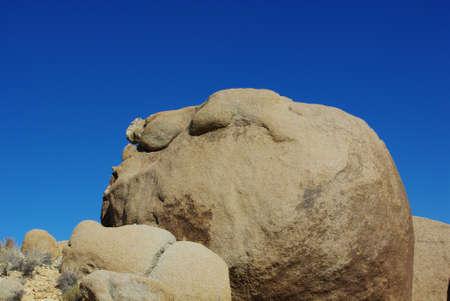 Sleeping giant, Alabama Hills, Sierra Nevada, California Stock Photo - 12520652