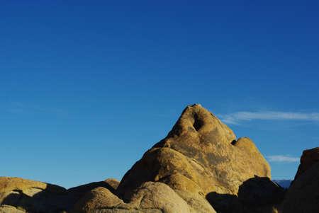 Sleeping giant, Alabama Hills, California Stock Photo - 12733653