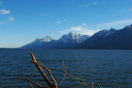 Jackson Lake, Grand Teton National Park, Wyoming photo