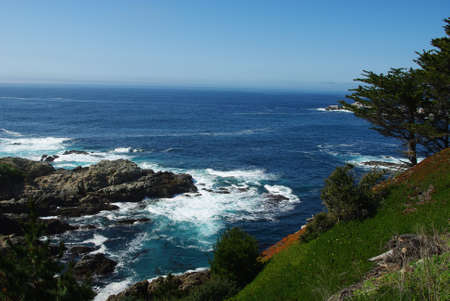 Pacific Ocean bay near Monterey, California