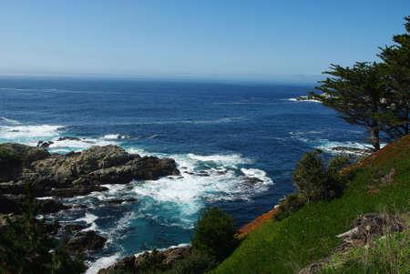 Pacific Ocean bay near Monterey, California