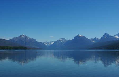 bowman: Bowman Lake, Glacier National Park, Montana