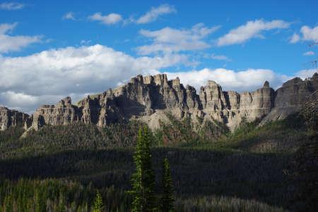 bridger: Beautiful Bridger Teton Rockies near Togwotee Pass, Wyoming