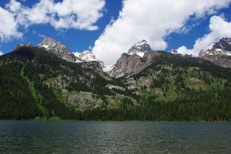 jenny: Jenny Lake and Grand Teton Mountains, Wyoming