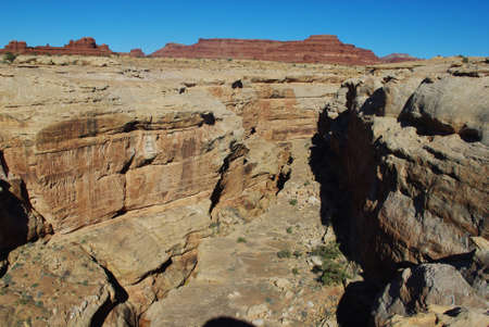 White Canyon and red rocks, Utah