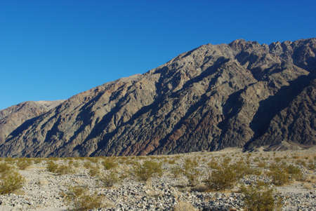 Desert and impressing mountains, Death Valley, California