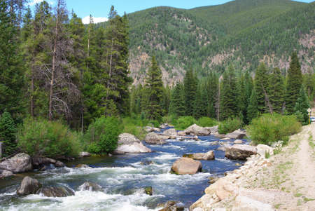 Taylor River near Gunnison and Crested Butte, Colorado
