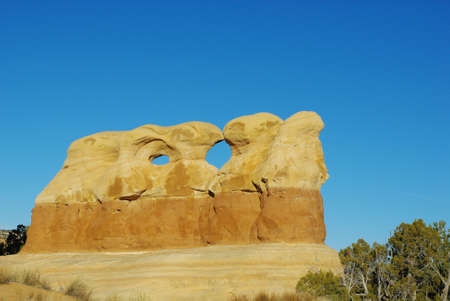 the devils garden: Rock formation in Devils Garden, Utah