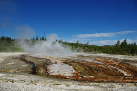 Yellowstone impression, Wyoming Stock Photo - 12900894