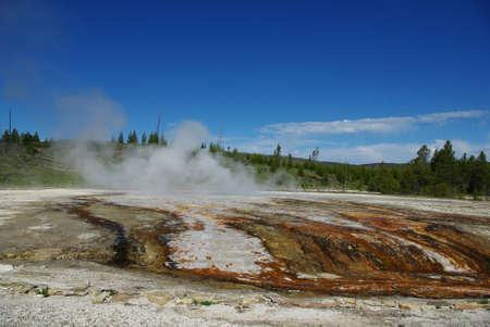 Yellowstone impression, Wyoming Stock Photo - 12900894