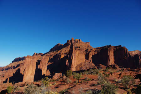 Partial view of Fisher Towers, Utah Stock Photo - 13097977