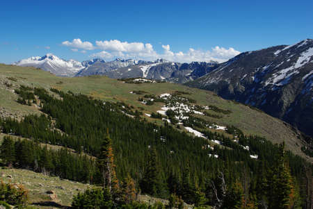High Rocky Mountain impression, Colorado Stock Photo - 13099238