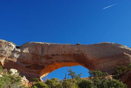 us sizes: Wilson Arch, Utah Stock Photo