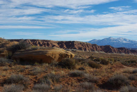 henry: Colourful high desert and Henry Mountains, Utah