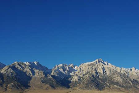 Sierra Nevada impression, California
