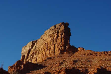 Rock wall near Hurrah Pass, Utah Stock Photo - 13402675