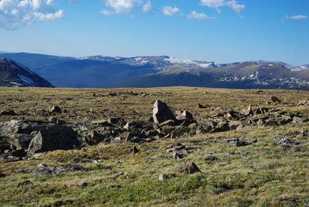 rocky mountain national park: Rocky Mountain National Park, Colorado Archivio Fotografico