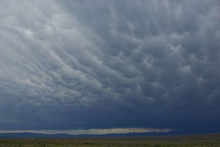 Prairie and clouds, Montana