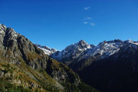 Mountains of Parco Naturale Adamello Brenta, Italy