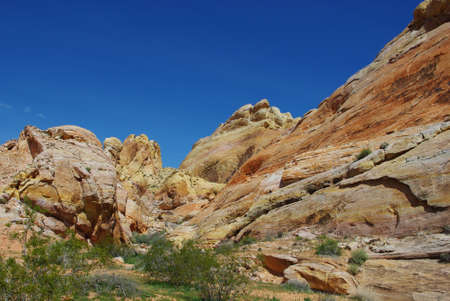 Colours of Valley of Fire, Nevada