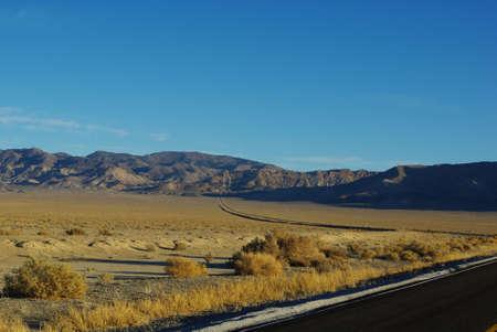 Highway 361 towards Calavada Summit near Luning, Nevada