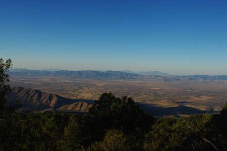 graham: Early morning view from Coronado National Forest near Mt Graham, Arizona
