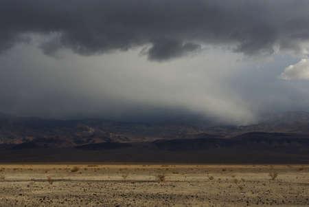 Storm near Death Valley, California photo
