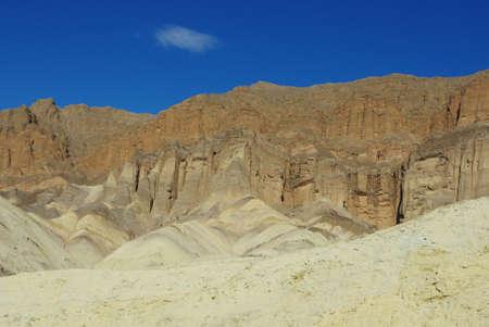 Colours in sandstone, Death Valley, California