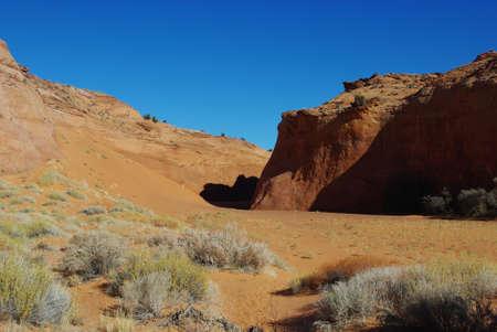 peekaboo: Sandy canyon near Peek-a-boo, Utah