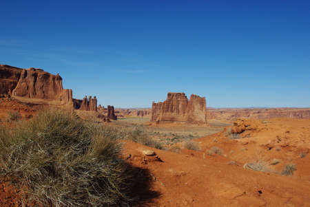 arches national park: Arches National Park, Utah Stock Photo