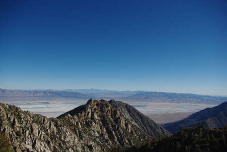high sierra: View from high Sierra Nevada, California