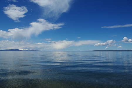 Lake Yellowstone, Wyoming photo